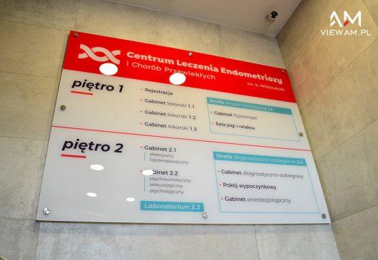 tablica_informacyjna_pleksi_klinika_scienna
