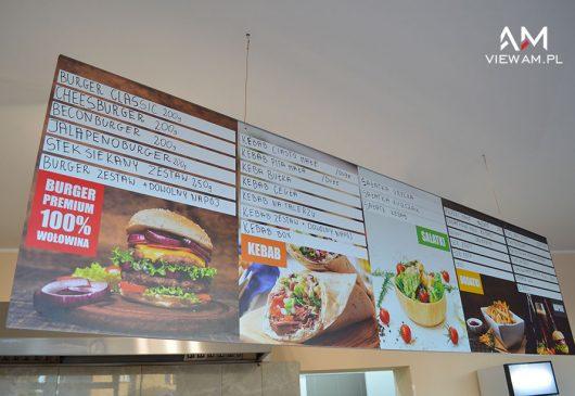 menu_druk_uv_dibond_kebab_gliwice