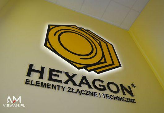 logo_z_pleksy_podswietlane_hexagon_slask